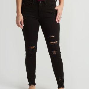 Denim - KanCan Black Distressed Jeans